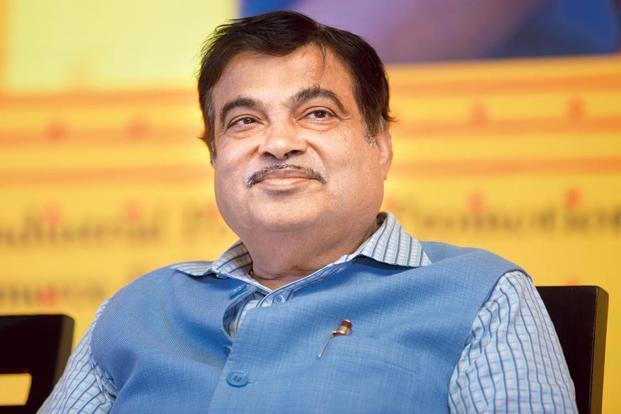 Transport minister Nitin Gadkari claims his roads ministry is now laying 28km of roads per day as against 2 km earlier. Photo: Abhijit Bhatlekar/Mint