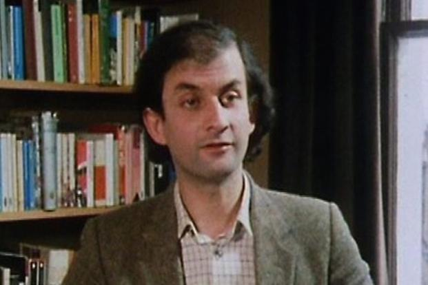 A young Salman Rushdie.