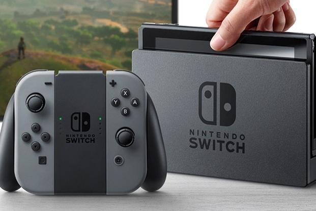 Nintendo Switch comes with a 7-inch screen allowing users to play games without a TV screen.