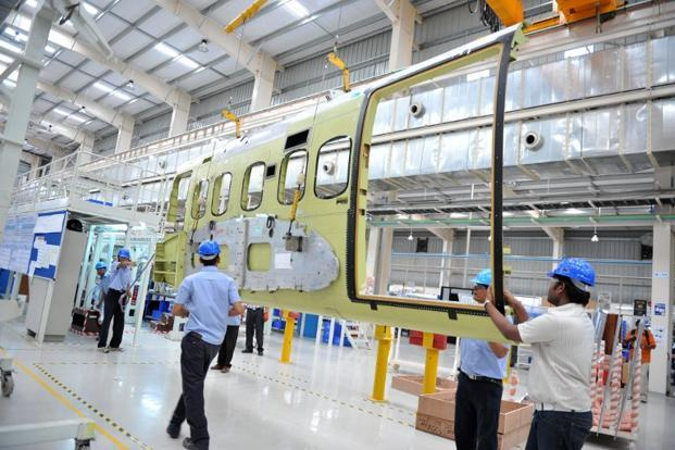 A file photo of Tata Advanced System's Hyderabad facility. Photo: AFP