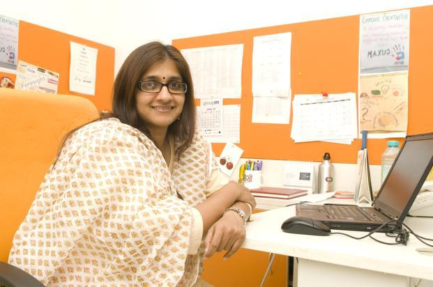 File photo. Priti Murthy will be joining OMD from GroupM media agency Maxus, where she currently holds the role of chief strategy officer. Photo: Ramesh Pathania/Mint