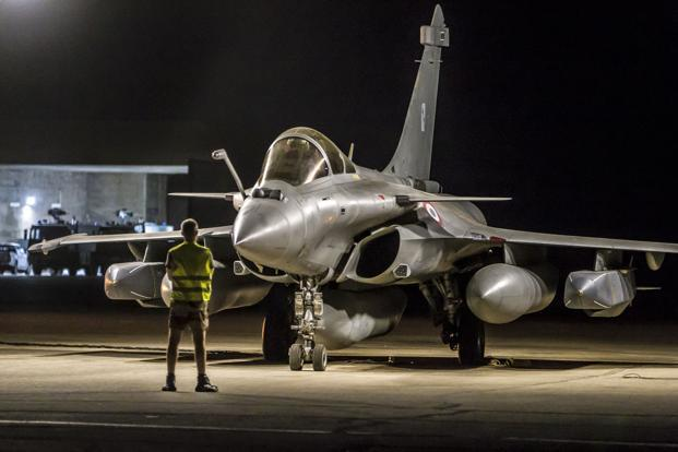 India in 2016 scrapped a multibillion- dollar tender for 126 fighter jets and instead bought 36 French Rafale jets off the shelf for an estimated Rs58,000 crore for the Indian Air Force. Photo: AFP