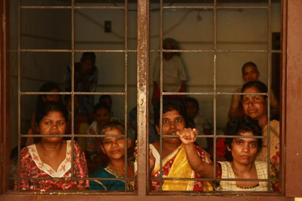 Inmates at Capernaum Charitable Trust in Kochi. The half-way homes will run programmes to help persons recovering from mental illness in their transition to independent living and learning life skills. Representational photo: Mint