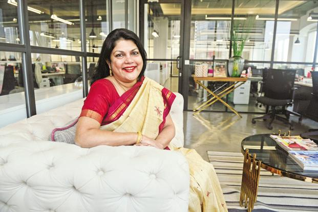 Falguni Nayar set up Nykaa, becoming India's first exclusive online cosmetics seller. Photo: Abhijit Bhatlekar/Mint