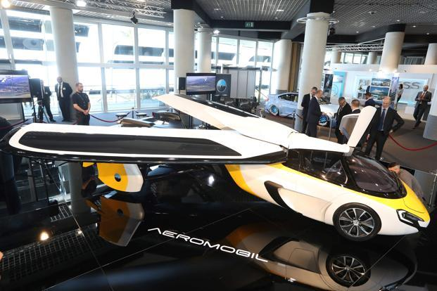 Aeromobil is among the start-ups that hopes to finally make the flying car a reality. Photo: AFP