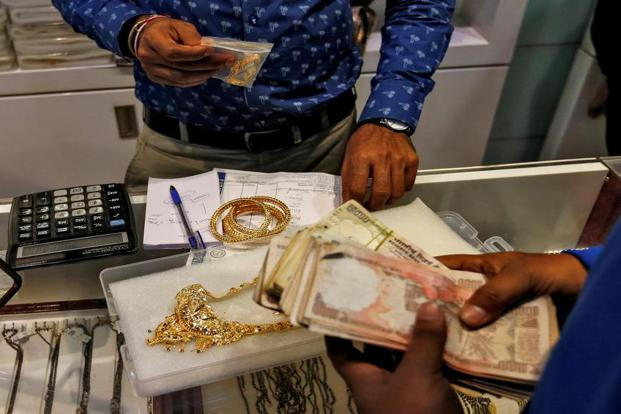 File photo. Gold buyers are trying to avoid paying GST and dodge new transparency rules under PMLA. Photo:Danish Siddiqui/Reuters
