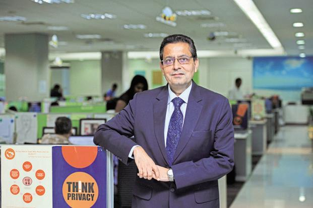Idea Cellular CEO Himanshu Kapania. The IUC cut by Trai has come as a big blow to Airtel, Vodafone and Idea, and a potential boost to newcomer Reliance Jio, which primarily operates on the 4G network. Photo: S Kumar/Mint