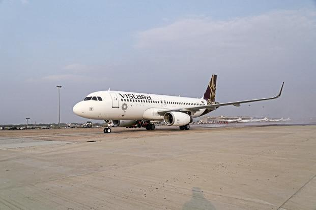 Vistara flies to 21 cities with about 100 daily flights operated by 16 Airbus A320 planes.