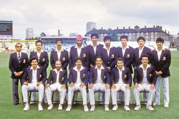 The Indian cricket team that won the 1983 World Cup. Photo: Getty Images