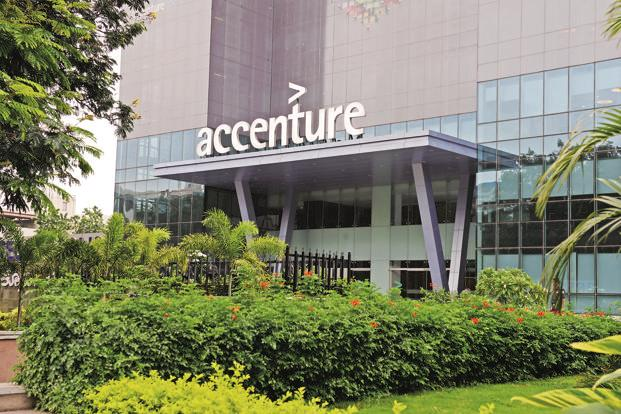 Accenture grew about 30% to $18 billion for the year ended 31 August. Photo: Hemant Mishra/Mint