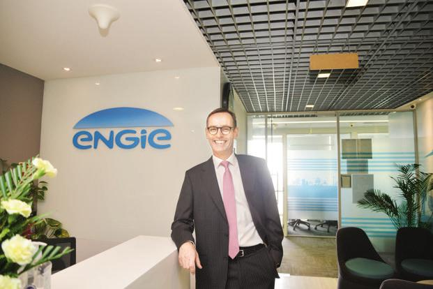 Malcolm Wrigley, Engie's country manager for India. The energy firm has been trying to expand its presence in India's renewable energy space. Photo: Ramesh Pathania/Mint