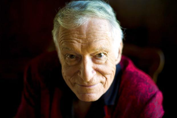 Hugh Hefner's monthly publication with the rabbit-head trademark and photos of girl-next-door Playmates remained the US's most popular men's magazine for four decades, driving sales for a single issue to 7 million by the early 1970s. Photo: AP