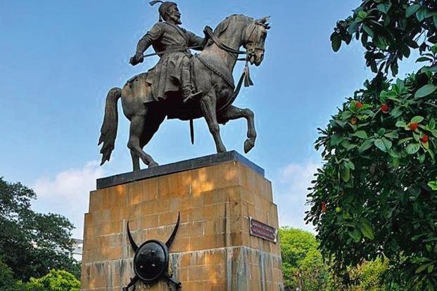 A statue of Shivaji in Mumbai. Photo: Alamy