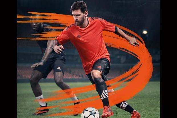 Just like every tennis player has a preferred racket, and a cricketer a certain type of bat, footballers also are particular about the shoes they wear on match day. For Lionel Messi, it's the Pyro Storm Nemeziz  from adidas.