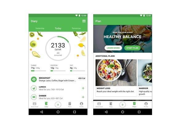 Runtastic Balance an help users by flagging poor eating habits and direct them towards healthy food choices.