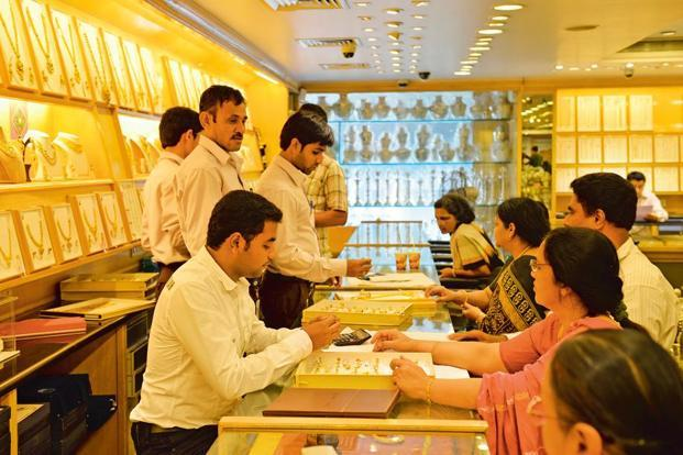 GST implementation is expected to be positive for jewellery firms in the organized market.Hemant Mishra/Mint