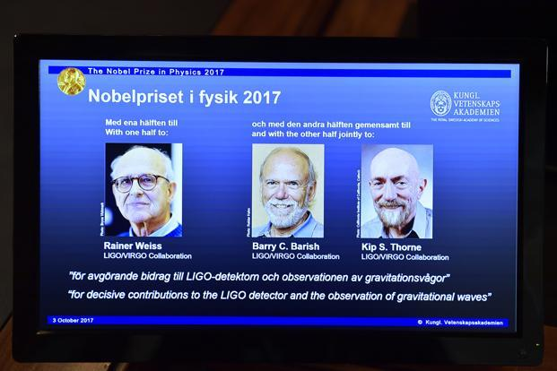 Nobel Prize in Physics Awarded to LIGO Black Hole Researchers