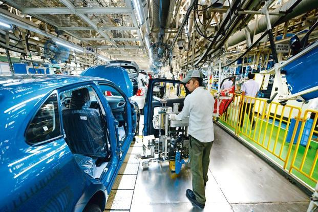 The switch to goods and services tax (GST) is unlikely to impact sales or production operations for the automobile industry. Photo: Ramesh Pathania/Mint