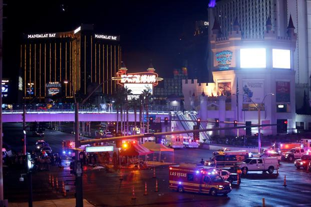 Erroneous posts on both Google and Facebook falsely identified the Las Vegas shooter as an apparently uninvolved person. Photo: Reuters (Reuters)