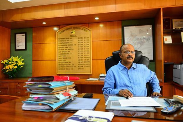A file photo of NHAI chairman Deepak Kumar who said nine highway projects will be auctioned by this month-end which would generate Rs6,700 crore. Photo: Priyanka Parashar/Mint