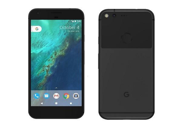 (Above) Google Pixel XL. In October 2016, Google unveiled its first set of non–Nexus devices.
