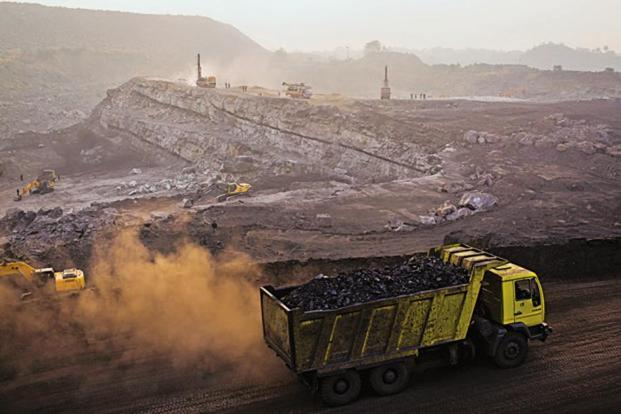 India's demand for overseas coal declined due to higher domestic production. File photo: Getty Images
