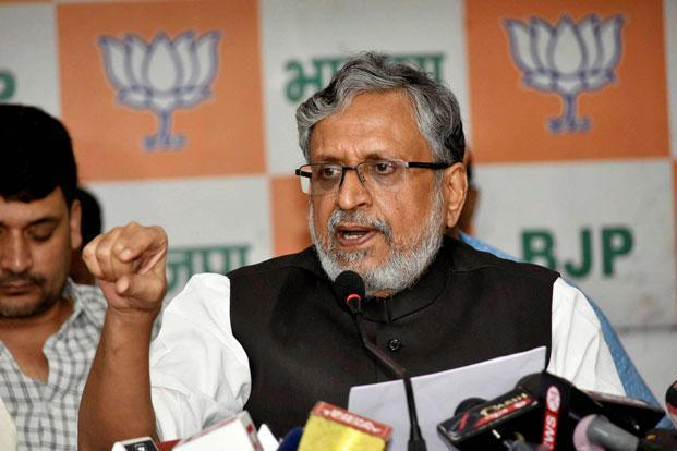 Bihar deputy CM Sushil Modi is head of a group of ministers formed to look into GSTN glitches and ensure smooth GST returns filing. Photo: PTI (PTI)