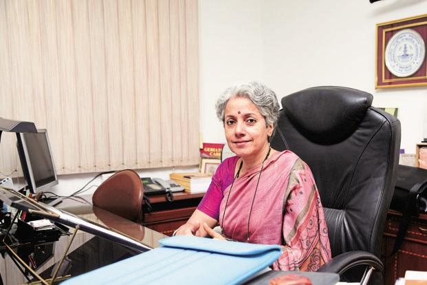 A file photo of Dr Soumya Swaminathan. Photo: Ramesh Pathania/Mint (Ramesh Pathania/Mint)