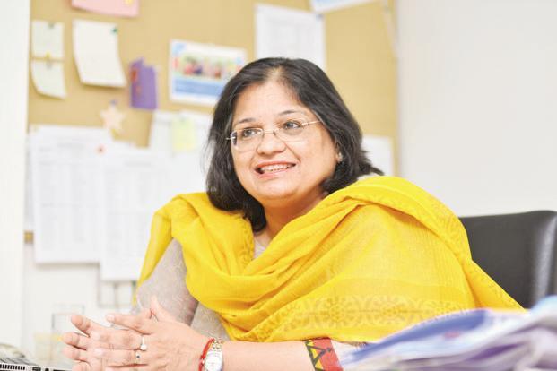 Anuja Bansal, secretary general, SOS Children's Villages of India. Photo: Ramesh Pathania/Mint (Ramesh Pathania/Mint)