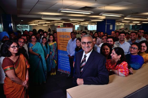 Vijay Chadda, chief executive of Bharti Foundation. Photo: Pradeep Gaur/Mint (Pradeep Gaur/Mint)