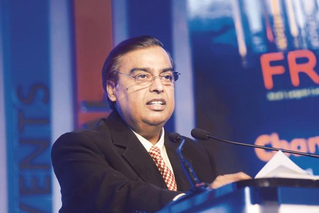 A file photo of Mukesh Ambani whose net worth has been calculated as $38 billion (nearly Rs2.5 trillion) by Forbes magazine. Photo: Abhijit Bhatlekar/Mint