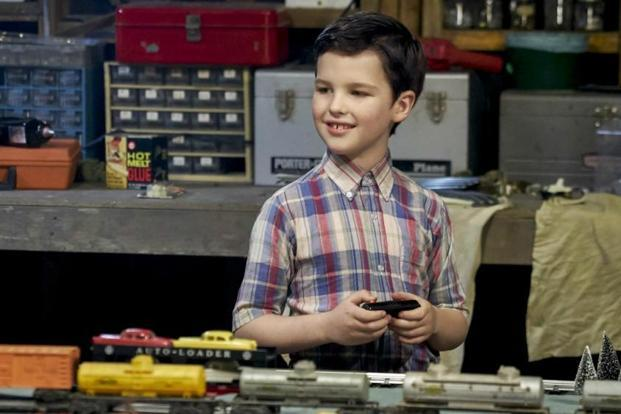 Iain Armitage in 'Young Sheldon'.