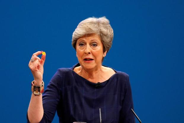 A file photo of Britain's Prime Minister Theresa May. Photo: Reuters (Reuters)