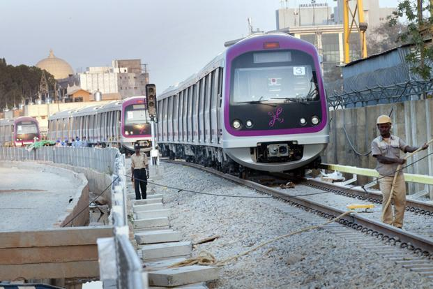 The €500 million for the Bangalore metro is one of the largest EIB loans in India as well as the largest-ever support to sustainable transport outside of Europe. Photo: Aniruddha Chowdhury/Mint (Aniruddha Chowdhury/Mint)