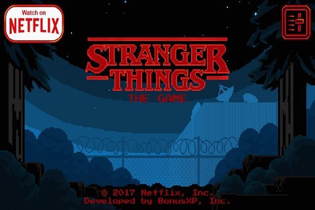 Stranger Things brings 16-bit game to Android devices