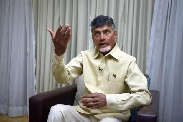 Andhra Pradesh CM N. Chandrababu Naidu says nine companies have already set shop in Fintech Valley in Visakhapatnam and another 16 are set to come.  Photo: Abhijit Bhatlekar/Mint