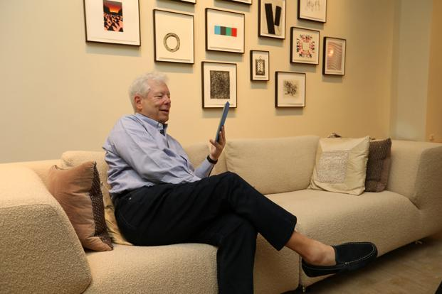 Richard Thaler was awarded the Nobel Prize for Economics on Monday. Photo: Reuters
