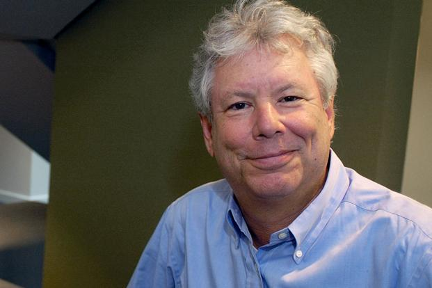 Richard Thaler's work has been particularly influential in finance, helping explain why markets may often overreact to dramatic news. Photo: Reuters