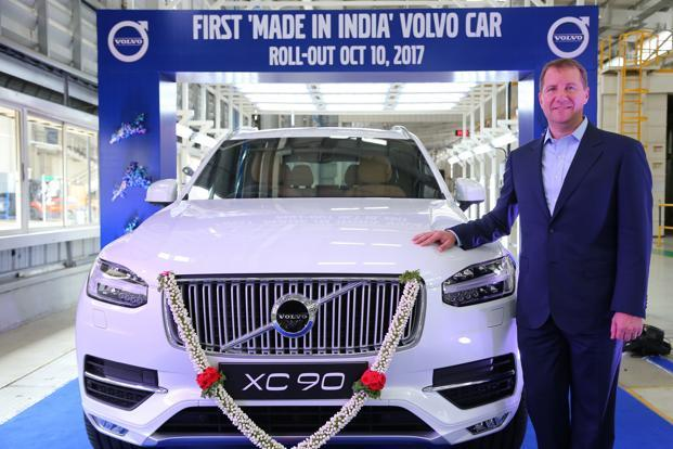 Volvo Starts Local Assembly Of Its Cars In India Livemint
