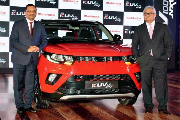 Mahindra KUV 100 facelift launched at Rs 4.39 lakh (ex-Delhi)