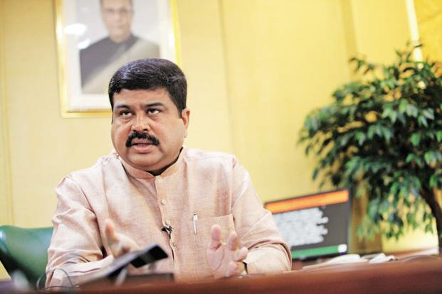 Oil minister Dharmendra Pradhan. India has told Opec countries led by Saudi Arabia that India has other options to import oil at competitive prices. Photo: Manoj Verma/Mint (Manoj Verma/Mint)