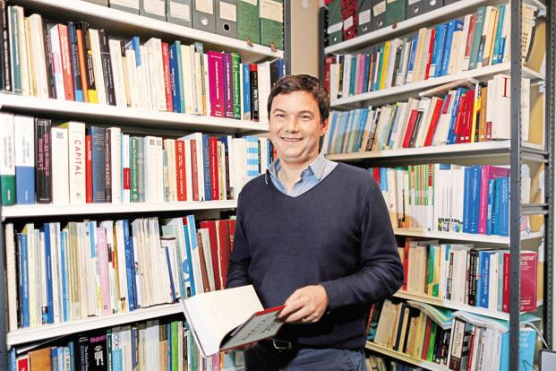 A file photo of Thomas Piketty. Photo: Reuters