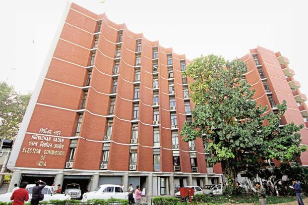 The Election Commission of India headquarters in Delhi. In the 2012 Gujarat elections, the BJP won 115 out of 182 seats while the Congress won 61 seats with. Photo: Mint