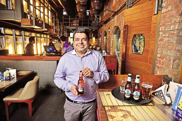 Ankur Jain, founder of B9 Beverages, makers of Bira 91 craft beer. Photo: Pradeep Gaur/Mint (Pradeep Gaur/Mint)