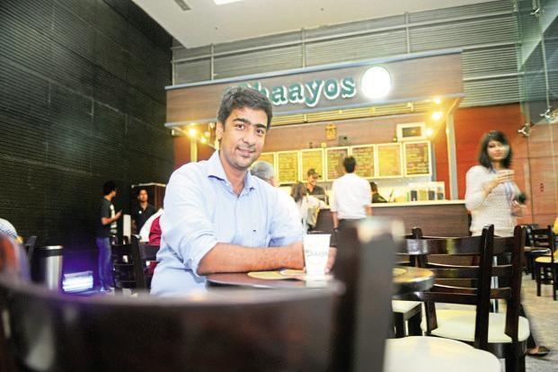 Chaayos CEO Nitin Saluja. Photo: Ramesh Pathania/Mint