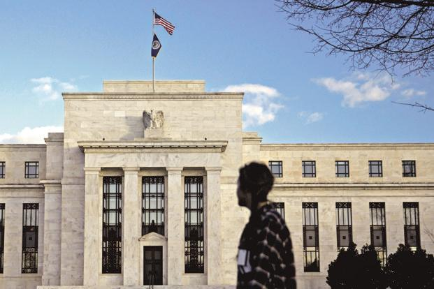 The US Federal Reserve, at the 19-20 September monetary policy review, left rates untouched at their current range of 1% to 1.25% and forecast one final rate hike in 2017 as well as three more in 2018. Photo: Bloomberg