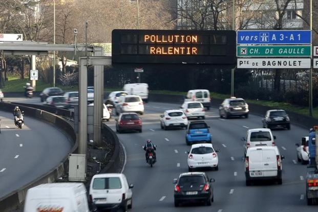 Paris which will host the Olympic games in the summer of 2024, had already been eyeing an end to diesel cars in the capital by the time of that event. Photo: Reuters