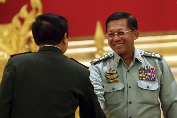 Rohingya Muslims not native, refugee numbers exaggerated, says Myanmar army chief