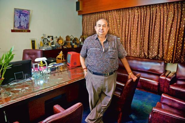 Manoj Desai, executive director of Maratha Mandir. Photo: Abhijit Bhatlekar/Mint
