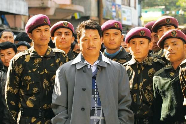 The detained GJM person has admitted that Bimal Gurung was holed up at the camp near the Sikkim-West Bengal border for over a month, police said. Photo: Indranil Bhoumimk/Mint
